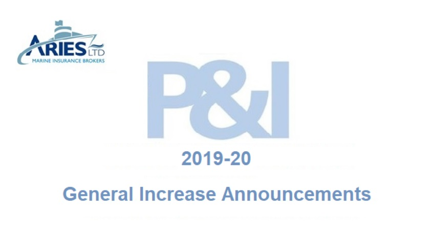 2019-20 P&I General Increase Announcements