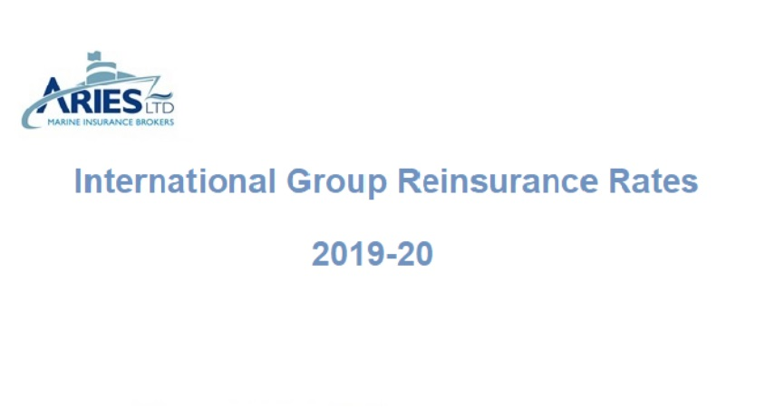 International Group Reinsurance Rates 2019/20